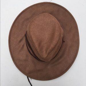 Vintage Wide Brimmed Hat